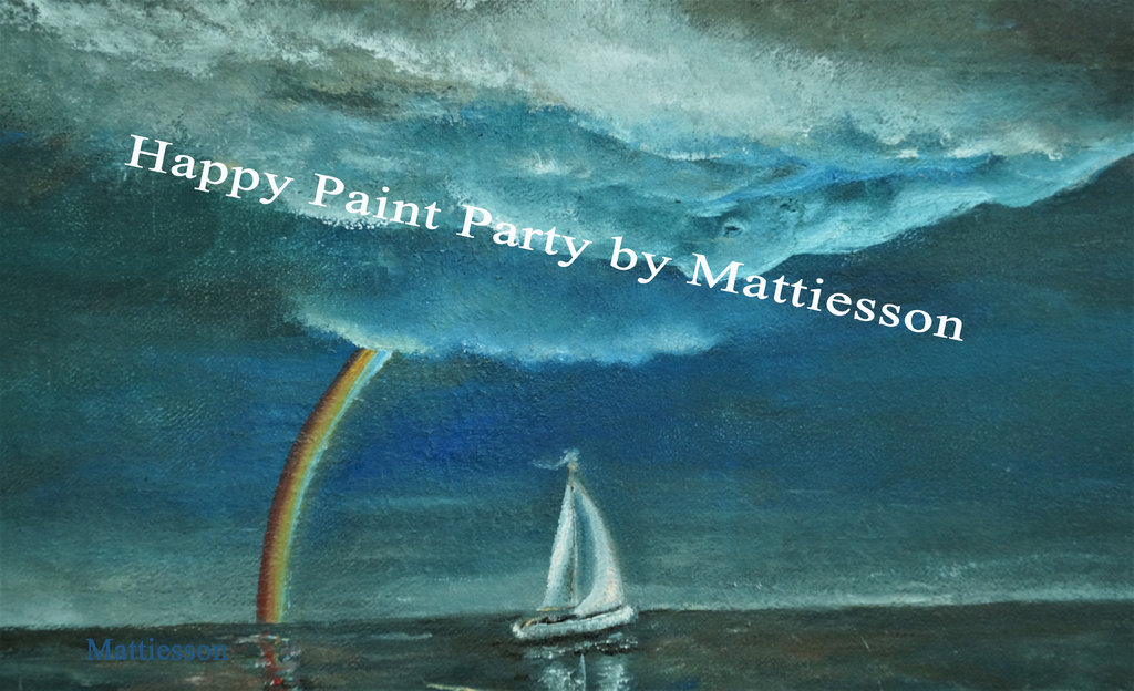 07.08.2020 Happy Paint Party Segelschiff unterm Regenbogen